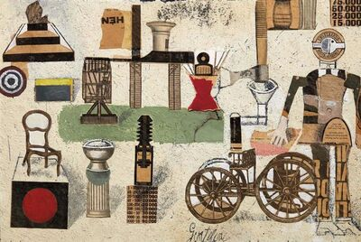 Franco Gentilini, 'Collage', executed in 1965