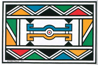 Esther Mahlangu, 'Untitled ', 2010