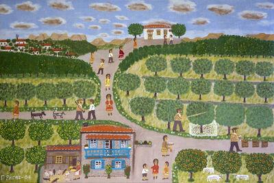 Giorgos Rigas, 'Harvesting Olives', 2004