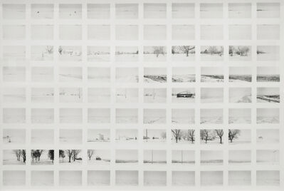 Robbert Flick, 'SV 023B North of Kankakee , Illinois', 1980
