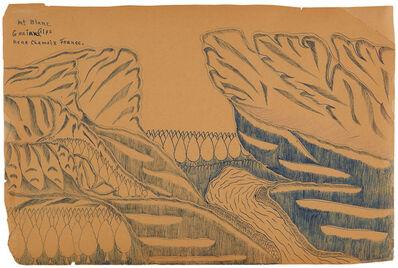 Joseph Yoakum, 'Mt. Blanc. Graian Alps Near Chemoix France', n.d.