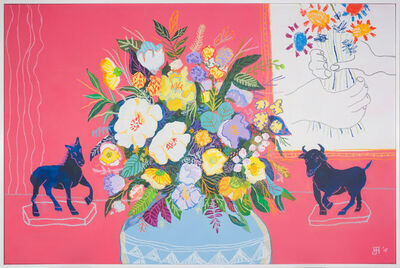 John Holcomb, 'Floral with Picasso Flowers', 2016