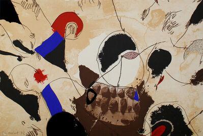 Josep Guinovart, 'Pedres i dents', 1982