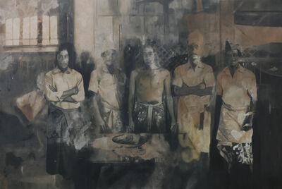 I Dewa Ngakan Made Ardana, 'Portrait of Mr. Onda and Brothers', 2016
