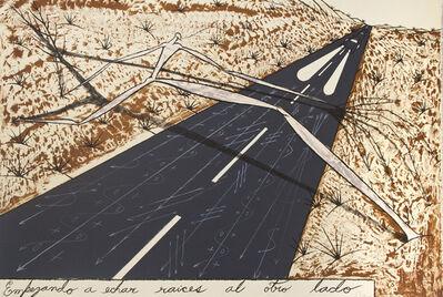 José Bedia, 'Empezando a Echar Raices al Otro', 2002