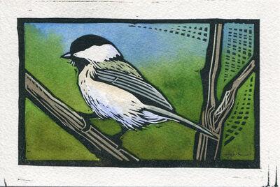 Sherrie York, 'Bitty Bird/Black Capped Chickadee'