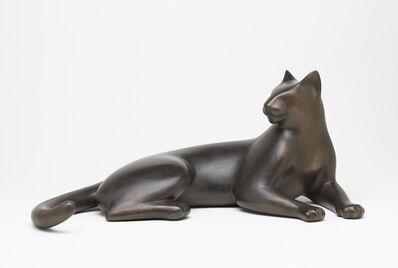 Gwynn Murrill, 'Cat Looking Back 5/9'