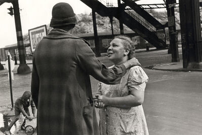 Helen Levitt, 'New York (consoling woman)', 1939
