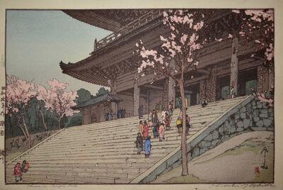 Yoshida Hiroshi, 'Chionin Temple Gate', 1935