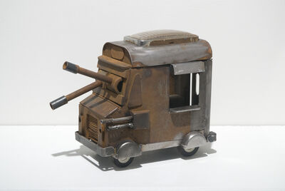 The Dufala Brothers, 'Maquette Ice Cream Truck Tank', 2005-2009