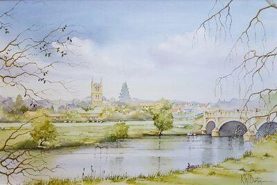 Ken Burton, 'Pershore, Worcestershire', 1988