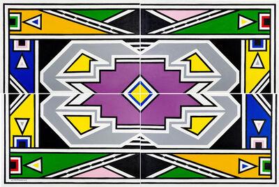 Esther Mahlangu, 'Ndebele Abstract - C001421', 2019