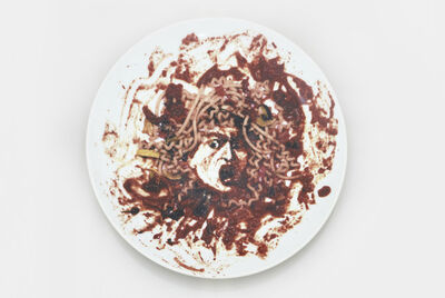 Vik Muniz, 'Untitled (Medusa Plate)', 1999