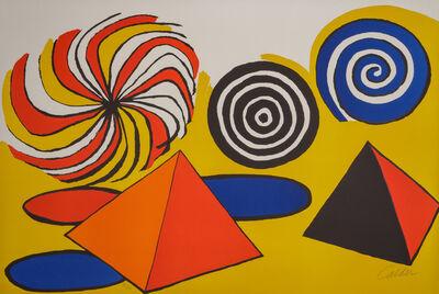 Alexander Calder, 'Untitled (Pinwheels and Pyramids)', 1970