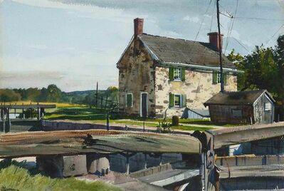 Ogden Minton Pleissner, 'The Lock House'