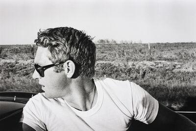 William Claxton, 'Steve McQueen, Columbus, Texas', 1963