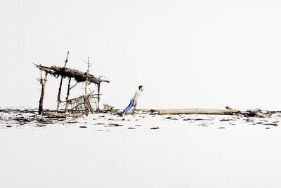 Fabien Mérelle, 'Contre le vent', 2019