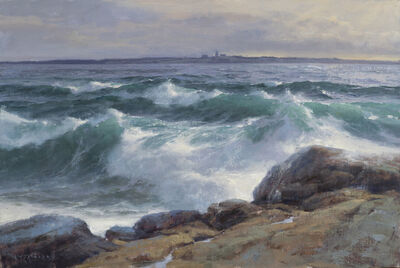 Donald W. Demers, 'Ocean Point, East Boothbay, Maine', 2020