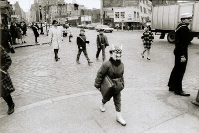 Gianni Berengo Gardin, 'Boy with Mask, New York City, NY', 1959/1960s