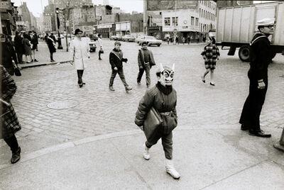 Gianni Berengo Gardin, 'Boy with Mask, New York City, NY', 1959/1960s