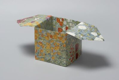 Pierre Bismuth, 'Origami boxes: one thing made of another, one thing used as another (Claude Monet)', 2004