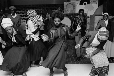 Chris Steele Perkins, 'Girls dancing in a youth club, Wolverhampton', 1978