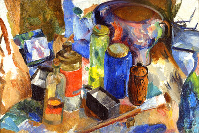James Daugherty, 'Synchromist Still Life', ca. 1916
