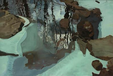 Ralph Wickiser, 'Winter Reflections', 1982