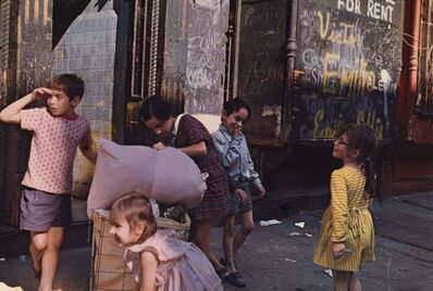 Helen Levitt, 'New York', 1972