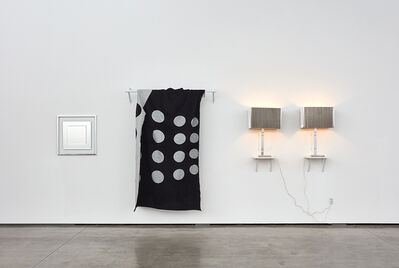 John M. Armleder, 'Silver Fish Silver Fish Silver Fish, (Furniture Sculpture)', 2016-2017