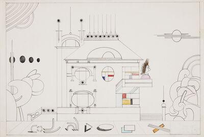 Saul Steinberg, 'Bauhaus', 1978