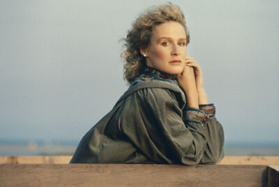 Nancy Ellison, 'VIPS: Glenn Close', 1982