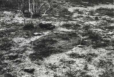 Richard Long, 'Light Snow Sleeping Place', 1983