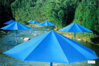 Christo, 'Parasols au Japon'