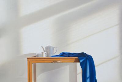 Edite Grinberga, 'Tee mit Blau', 2018