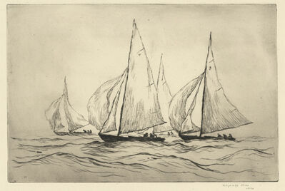 Reynolds Beal, 'Marblehead Yachts', 1930