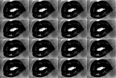 Daido Moriyama, 'Untitled (Lips 16 Times)', 2001