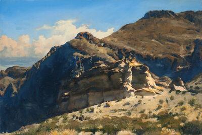 Bob Stuth-Wade, 'Burro Mesa Pour-Off Trailhead', 2017