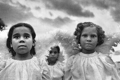 Sebastião Salgado, 'Three Communion Girls, Juazeiro do Norte, Brazil', 1981