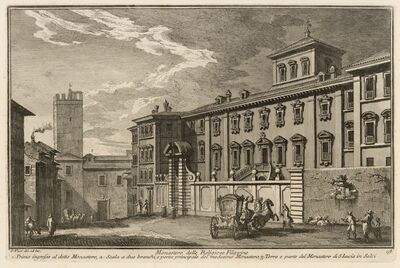 Giuseppe Vasi, 'Monastero delle Religiose Filippine', 1747-1801