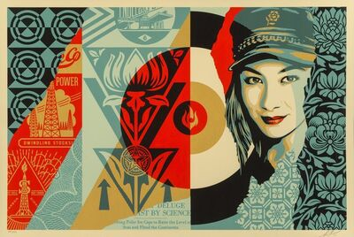 Shepard Fairey, 'Raise the Level', 2019