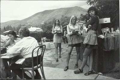Garry Winogrand, 'Untitled From Women Are Beautiful Portfolio ( Waitresses at Cafe)', 1975-1981