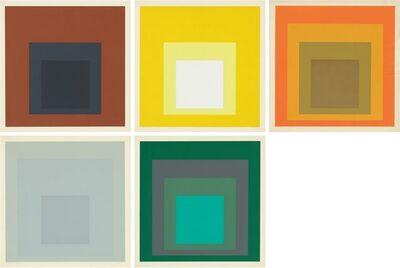 Josef Albers, 'Die Oberfläche Series', 1965