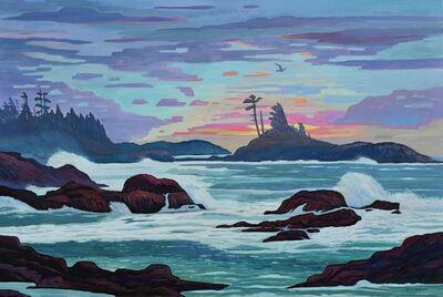 Nicholas Bott, 'West Coast Breaking Waves', 2020