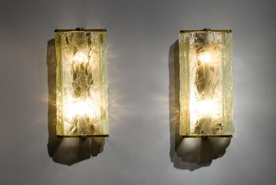 Eugène Printz, 'Pair of Wall Sconces', circa 1930