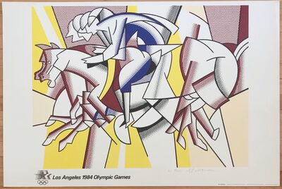 Roy Lichtenstein, 'Los Angeles 1984 Olympic Games', 1984