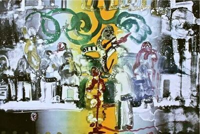 Romare Bearden, 'Introduction for a Blues Queen', 1979