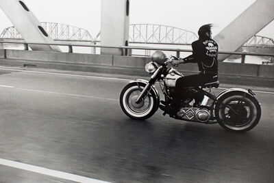 Danny Lyon, 'Crossing the Ohio River, from The Bikeriders, 1966', 1966