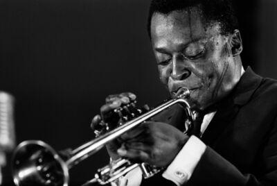 Henri Dauman, 'Miles Davis, Randall's Island Jazz Festival, 1960', 1960