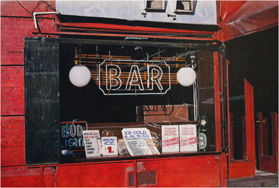 Rudolf Häsler, 'Bar in Haarlem. New York', 1987
